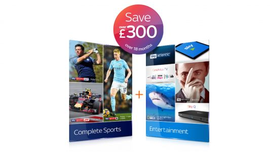 Sky TV deals: Save £342 on Sky Sports HD and Entertainment bundle