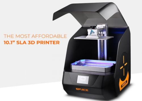 Space 3D affordable 10.1 inch SLA 3D printer from $499