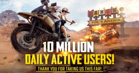 PlayerUnknown's Battlegrounds hits 10 million daily active users on mobile