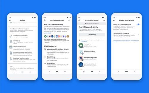 Facebook Clear History privacy tool launched