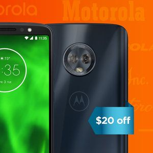 Moto G6, Z2, and other phones are discounted as Motorola celebrates its 90th birthday