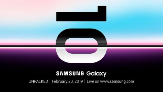 Samsung Galaxy S10 launch event set for February 20th