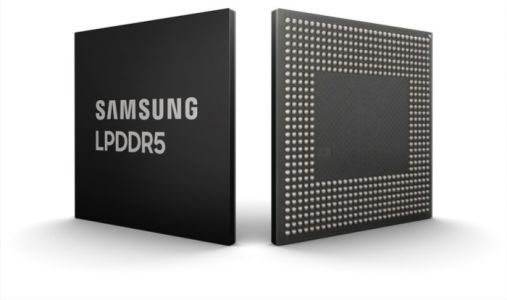Samsung Announces New 8GB LPDDR5 DRAM For 5G Smartphones