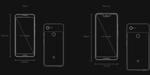 Pixel 3 and Pixel 3 XL specs: What Google changed