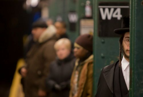 A Conversation Between Strangers on the Subway, one Hasidic and one not, Takes a Strange Turn