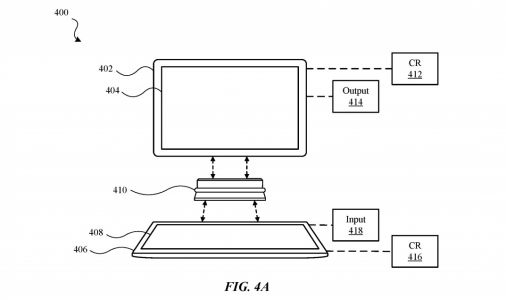 Apple Patent Suggests Two iPads Could Be Connected Together For Notebook-Style Computing