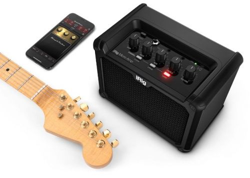 IRig Micro Amp 15W RMS mains and battery amplifier now available for €150