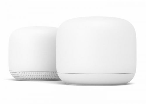 Google Nest WiFi offers wireless mesh networking and Google Assistant smart speaker in one