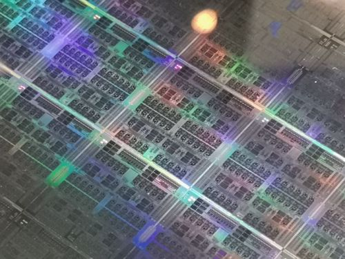 A Success on Arm for HPC: We Found a Fujitsu A64fx Wafer