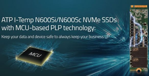 ATP Unveils N600S-Series Industrial SSDs w/ MCU-Based Power Loss Protection