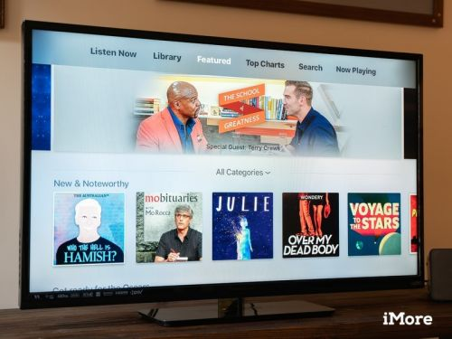 Listen to and watch your favorite podcasts on your Apple TV