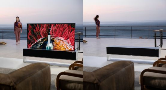 That Cool LG Rollable OLED TV Finally Goes On Sale & You Won't Believe The Price