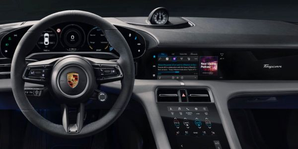 Porsche Taycan EV gains exclusive Apple Podcasts and Apple Music time-synced lyrics integration