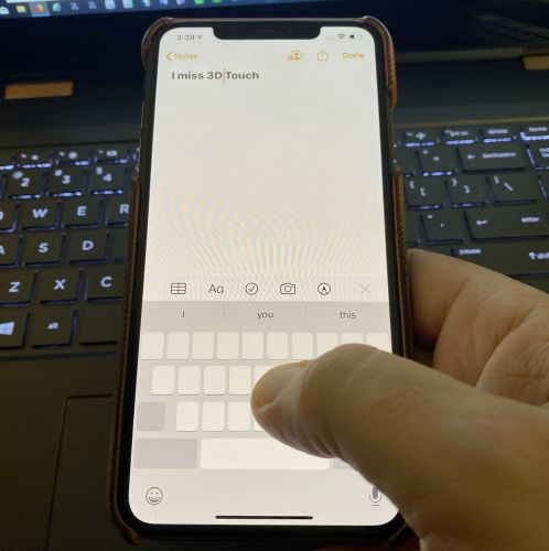 Living With the iPhone 11 Pro Max: Missing 3D Touch a Little