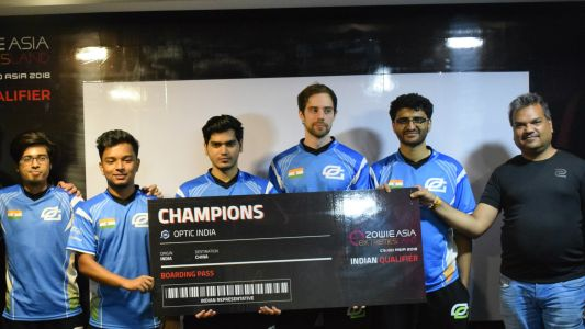 Optic India wins Zowie Asia eXtremesland CS: GO tournament