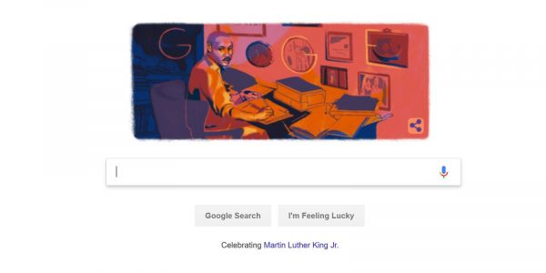 Google celebrates Martin Luther King Jr. Day with special Doodle from guest artist