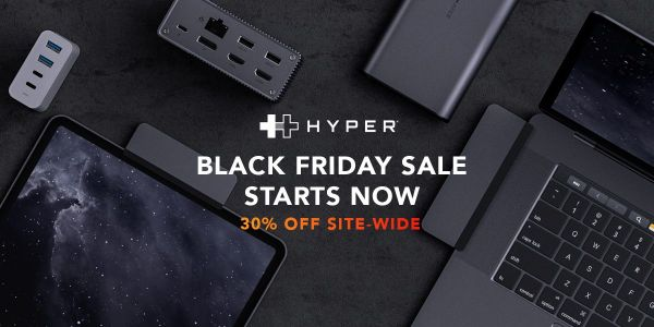 Hyper's biggest ever Black Friday sale: up to 80% off wireless chargers, USB-C hubs, portable batteries and more