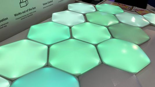Video: Hands-on with Nanoleaf's Canvas Light Hexagons