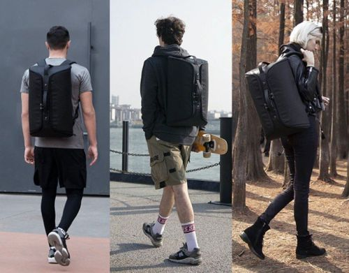 Kincase urban backpack made from level 5 cut proof fabric