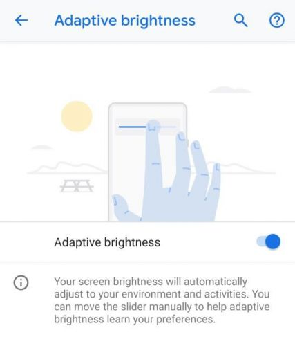 Android's Adaptive Brightness Uses Machine Learning