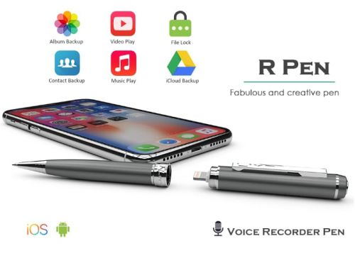 LIY7 R smart pen records notes, storage and more