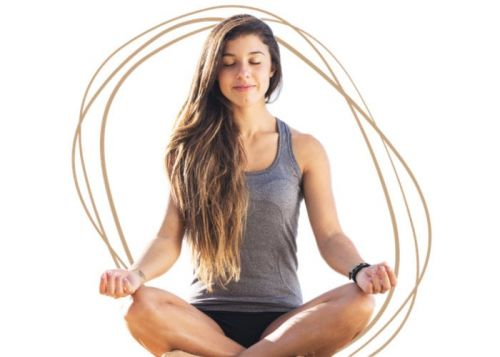 Melo reduces stress and anxiety using guided breathing exercises