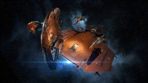 """EVE Online Created the """"Blaze"""" Squadron Skin Set - Geek News Central"""