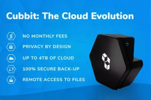 Cubbit offers personal cloud storage with no monthly fees