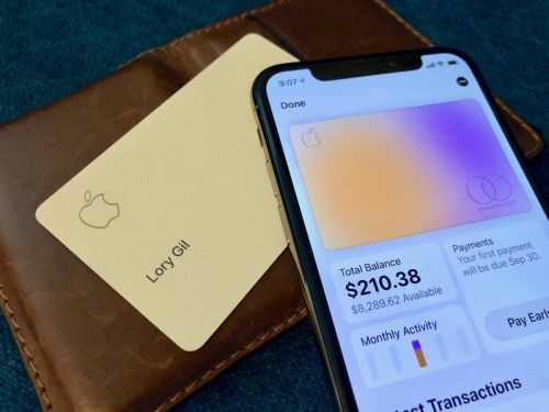 This is what the Apple Card could look like after two months in a wallet