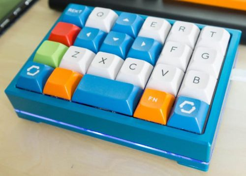 DIY Custom Mechanical Keyboard Gamepad