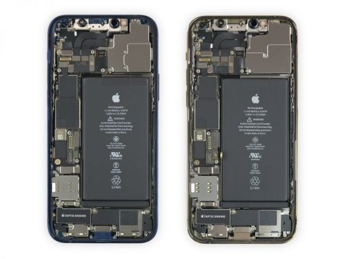 IFixit Shares Full iPhone 12 and 12 Pro Teardown Revealing Interchangeable Displays and Batteries