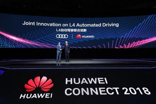 Audi And Huawei Will Develop Self-Driving Car Technology