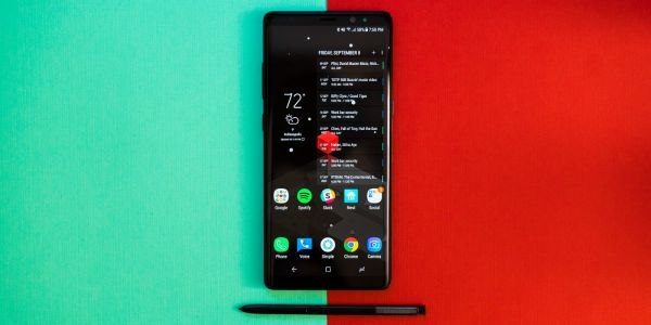Samsung Galaxy Note 8 receiving second Android Pie beta update
