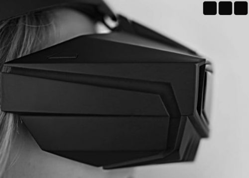 VR Headset With BackTrack Motion Tracking Technology