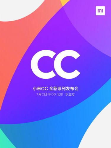 "Xiaomi's First ""CC"" Phone Coming On July 2 With 32MP Selfie Camera"