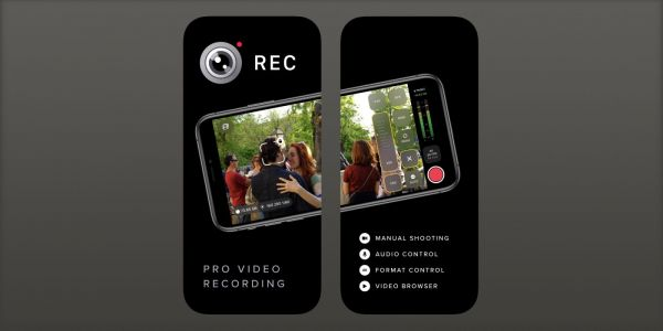 REC iPhone app from Camera+ is a pro video recorder with full manual controls