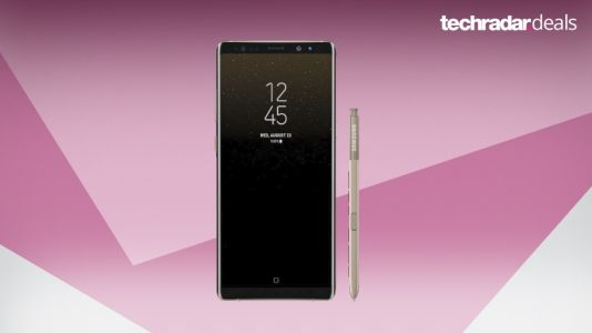 Best Samsung Galaxy Note 8 deal will end on Monday - £29 per month for 12GB data
