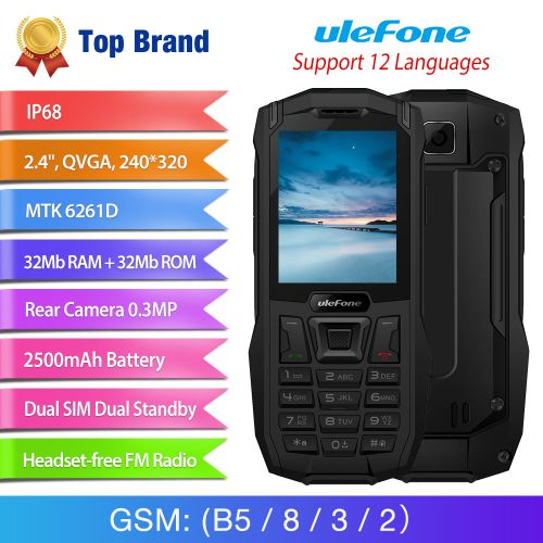 Ulefone Launches Armor Mini, A Rugged Feature Phone