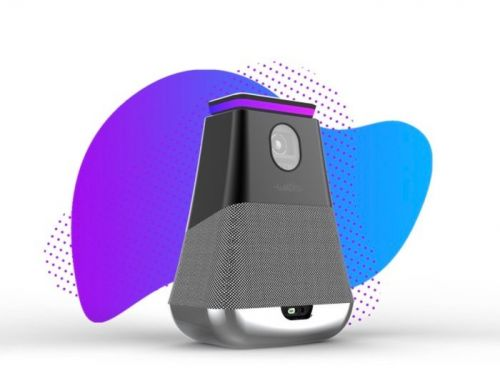 WooBloo SMASH portable 300 lumen smart projector with Alexa support