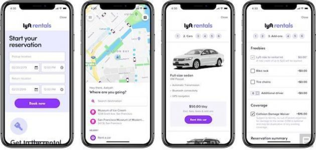 Lyft Is Trying Out Car Rentals In San Francisco
