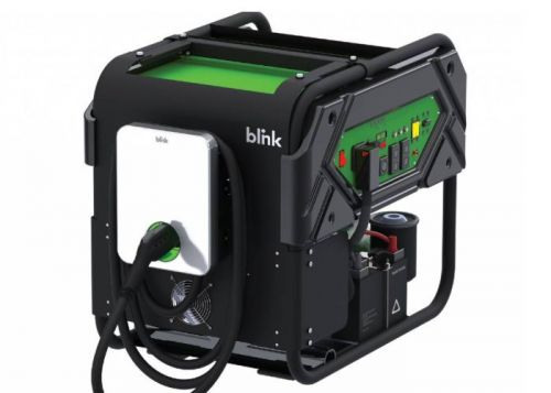 Blink mobile emergency electric car charger