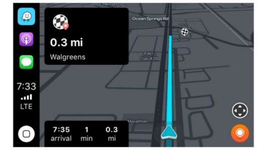 Waze Is Now Available For CarPlay