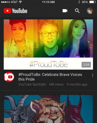 A New Dark Mode is Arriving on the YouTube iOS App
