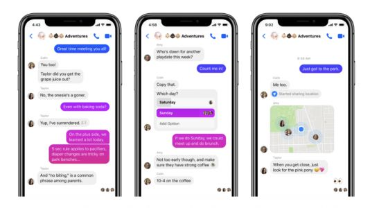 Facebook rolling out new Messenger 4 app update with simplified navigation, dark mode, customizable chat bubbles, more
