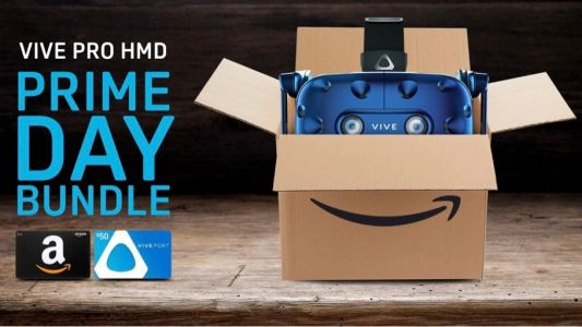 Buy an HTC Vive Pro at Amazon and get $100 worth of free gift cards
