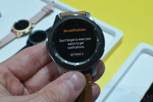Hands-On With The Tizen-Powered Samsung Galaxy Watch