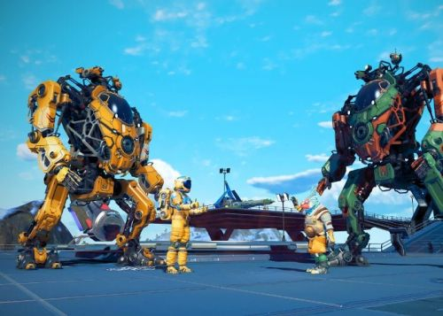No Mans Sky mechs officially unveiled