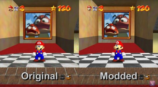 Super Mario 64 PC port gets modern mods
