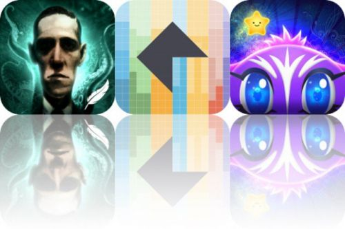 Today's Apps Gone Free: iLovecraft, Cryption and Star Cat Adventure