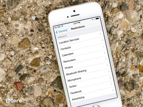 How to restrict access to personal data on iPhone and iPad